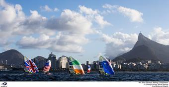 Dominik Życki z Rio: Kacper Ziemiński kończy igrzyska. 49er walczy dalej mimo kolizji