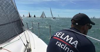 SELMA RACING w czołówce RORC St. Malo Race