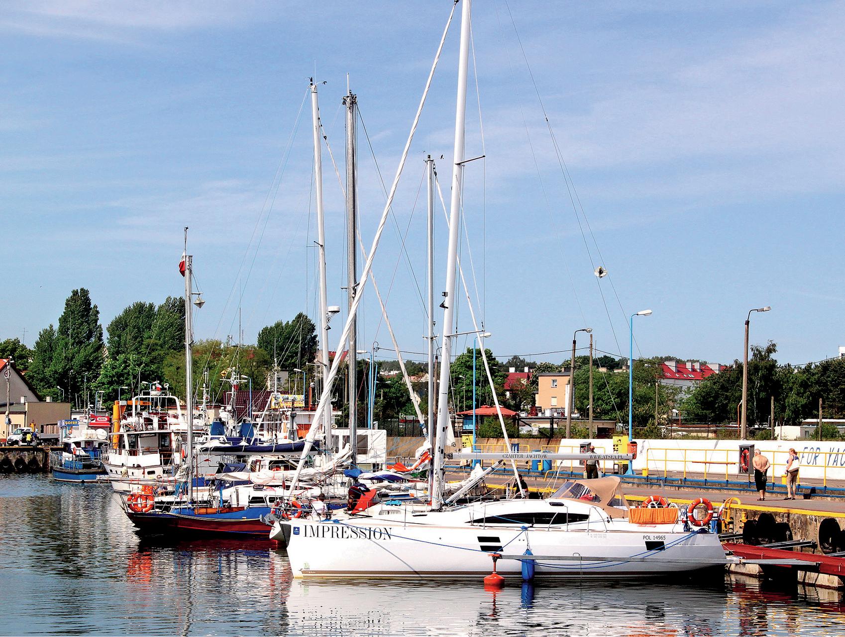 Władysławowo - przystań jachtowa